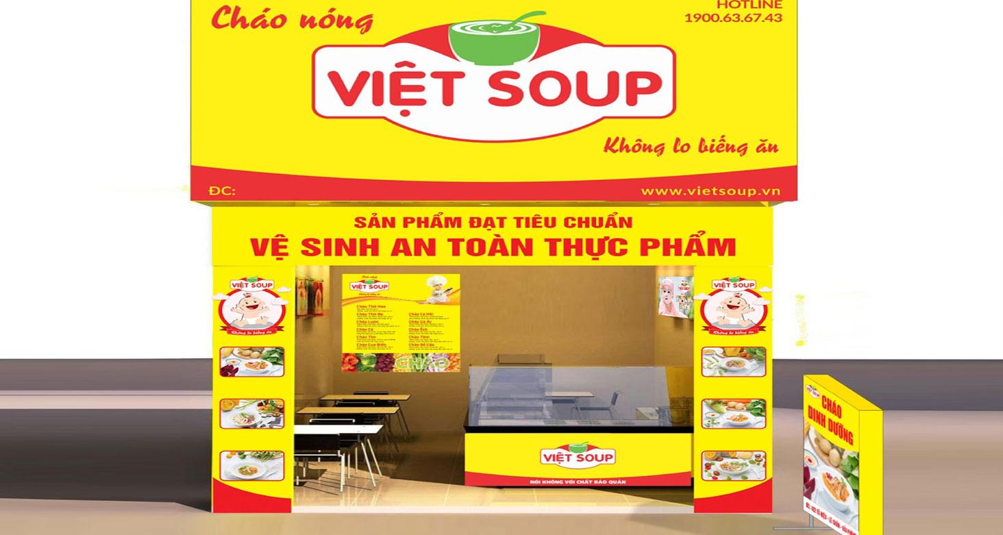Kinh doanh cùng Việt Soup