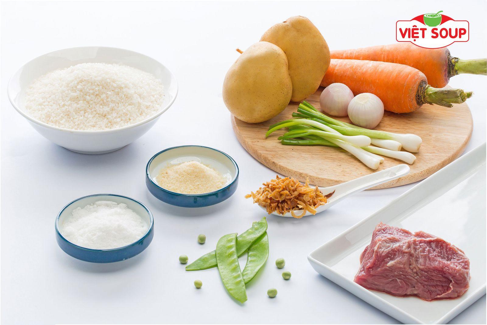 Công dụng và cách nấu món cháo thịt bò bổ dưỡng cho bé